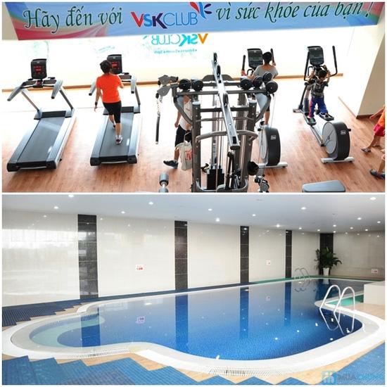 5 buổi bơi + tập Gym không giới hạn tại VSK Club - 1