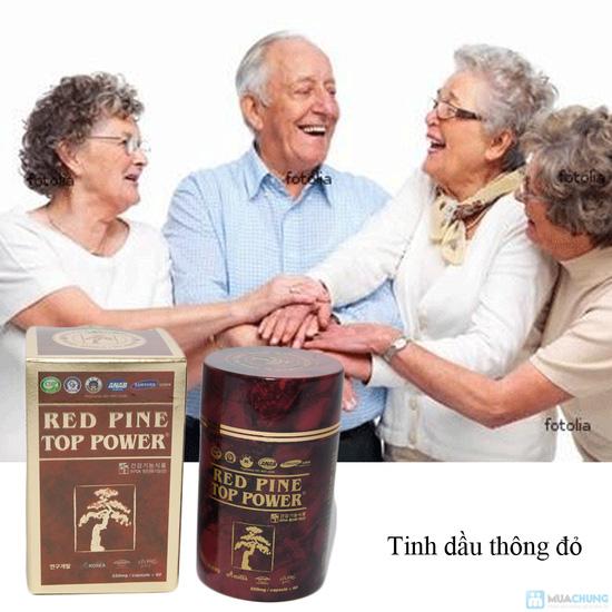 Tinh dầu thông đỏ - Red Pine Top Power - 8