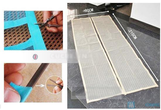 Combo 2 rèm cửa chống muỗi - 5