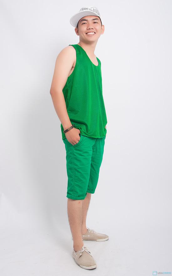 Combo 02 áo thun nam mặc nhà - 1