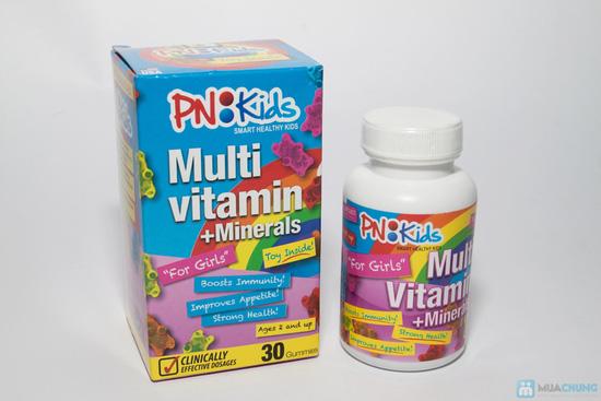 Combo 2 hộp vitamin tổng hợp PN:KIDs cho bé gái - 2