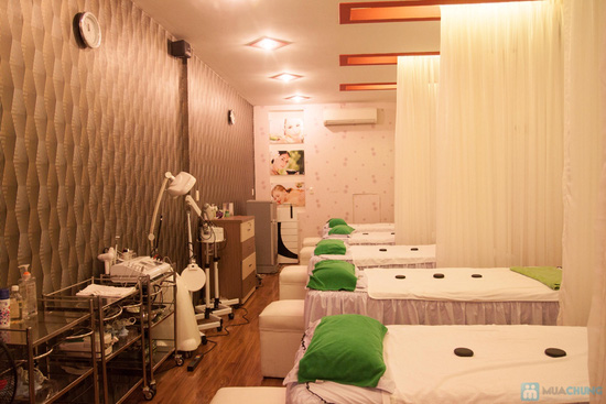 Massage mặt + Tắm Spa nghệ & mật ong - 8