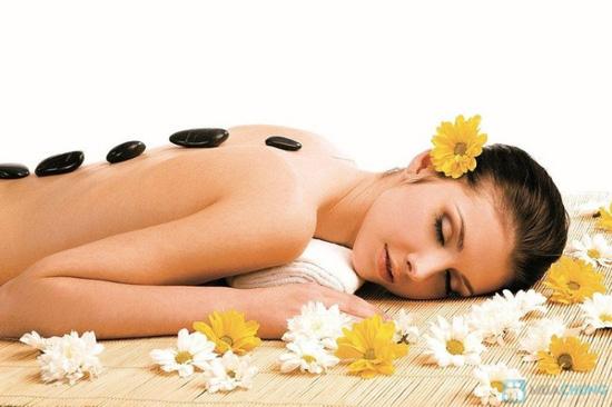 Xông hơi, massage body + đắp mặt nạ + ấn huyệt tại Sài Gòn Tina  Spa - 2