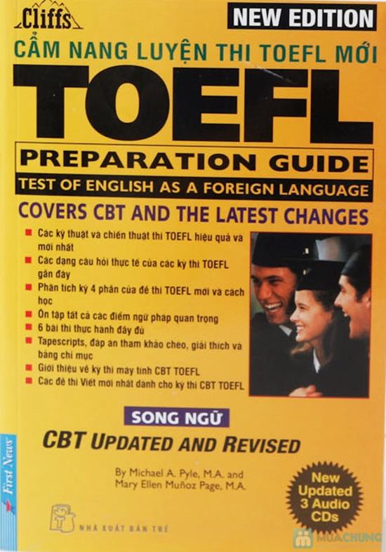 Cẩm nang luyện thi Toefl (kèm 3D). Chỉ với 117.000đ - 1
