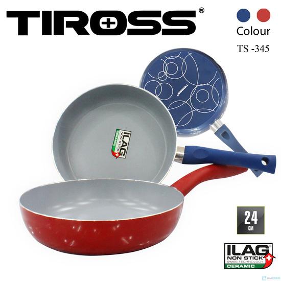 Chảo rán chống dính Tiross ceramic phi 24cm (TS-345) - 1