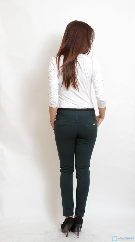 Quần skinny cotton cho bạn gái - 9