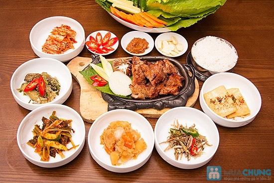 Sườn heo nướng Hàn Quốc + 5 món phụ dành cho 2 người tại Nhà hàng Sườn nướng Hàn Quốc - 1