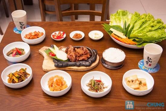 Sườn heo nướng Hàn Quốc + 5 món phụ dành cho 2 người tại Nhà hàng Sườn nướng Hàn Quốc - 5