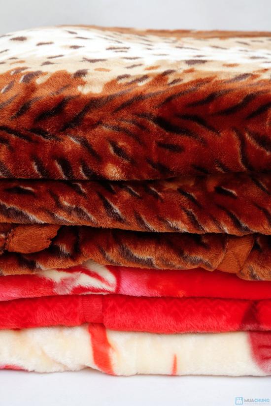 Chăn lông sóng loại dầy 1m8x2m2 (+-5cm) (deal chạy tỉnh) - 4