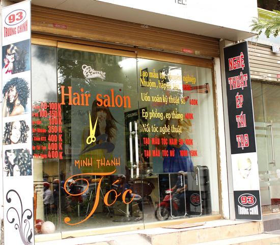 Làm tóc tại Minh Thanh Hair Salon Cây Kéo Vàng - 4
