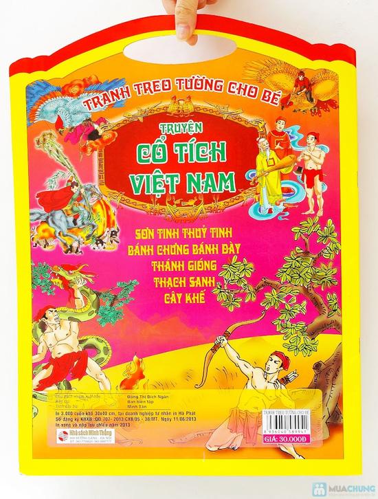 Tranh treo tường cho bé phát triển trí thông minh (tập 1+2) + Tranh treo tường Truyện cổ tích Việt Nam - 14