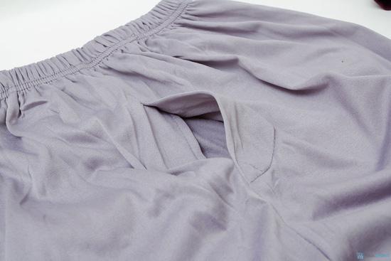 Combo 2 quần ngủ nỉ nam - 4