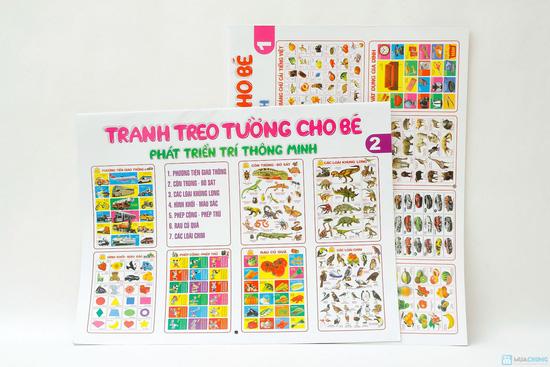 Tranh treo tường cho bé phát triển trí thông minh (tập 1+2) + Tranh treo tường Truyện cổ tích Việt Nam - 8