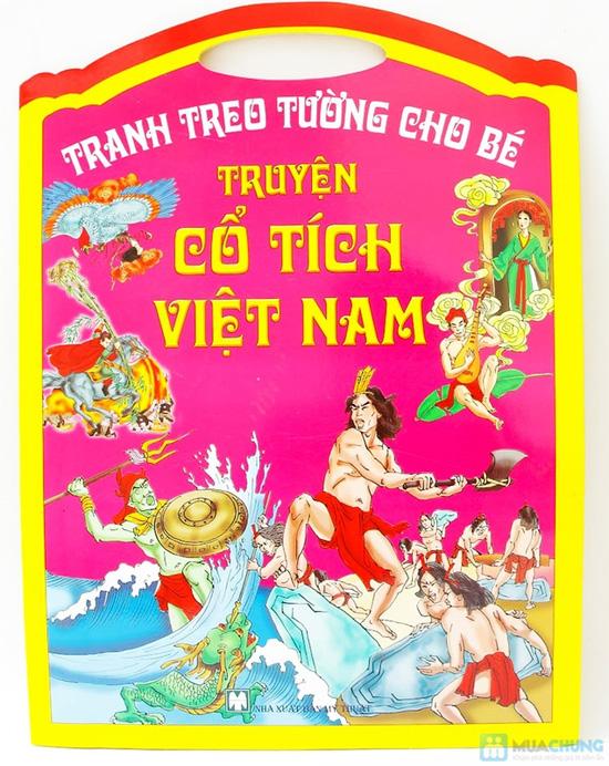 Tranh treo tường cho bé phát triển trí thông minh (tập 1+2) + Tranh treo tường Truyện cổ tích Việt Nam - 11