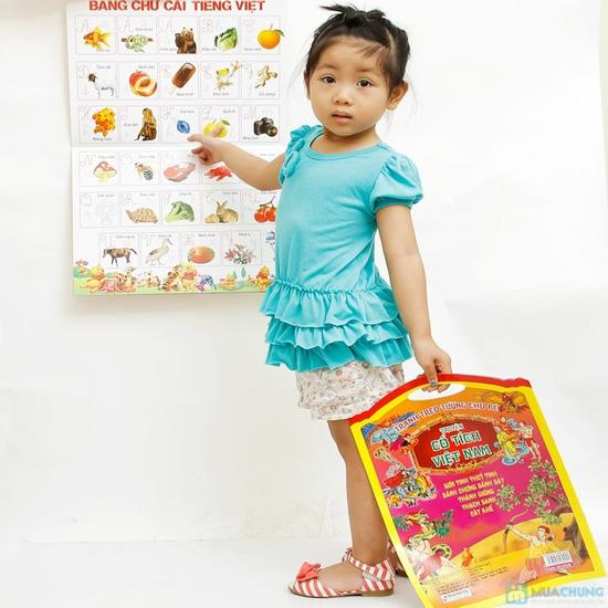 Tranh treo tường cho bé phát triển trí thông minh (tập 1+2) + Tranh treo tường Truyện cổ tích Việt Nam - 1