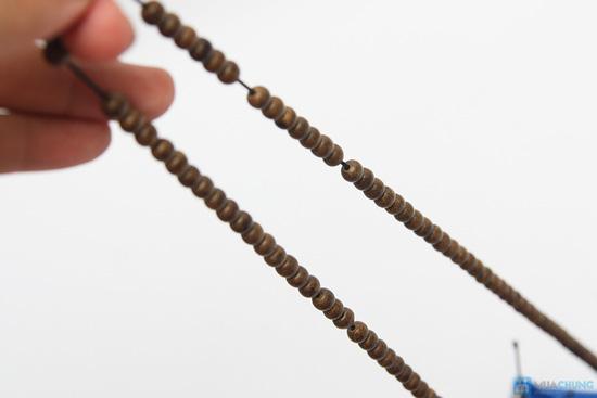 Vòng tay hương trầm hương loại nhỏ cho nữ - 5