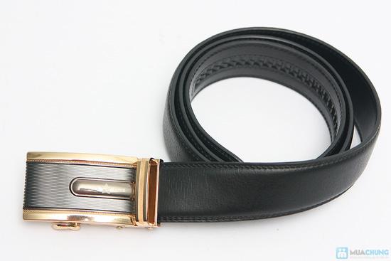 Thắt lưng nam da bò phong cách - 5