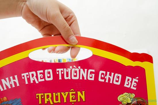 Tranh treo tường cho bé phát triển trí thông minh (tập 1+2) + Tranh treo tường Truyện cổ tích Việt Nam - 2