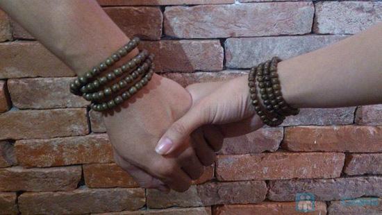 Vòng tay hương trầm hương loại nhỏ cho nữ - 2