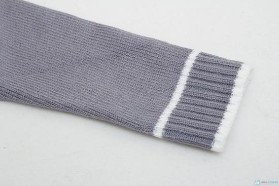 combo 2 áo len cổ tim cho bé trai - 2