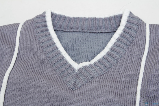 combo 2 áo len cổ tim cho bé trai - 1