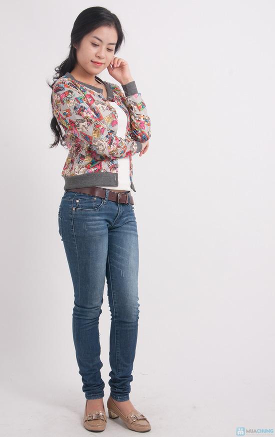 Áo khoác len lưng hoạt hình - 3