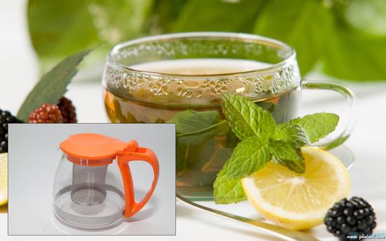 Bình lọc trà (700ml) - Tiện lợi, dễ sử dụng - 6