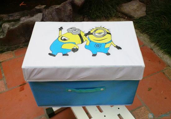 Combo 2 hộp đựng đồ handmade Minion - 3