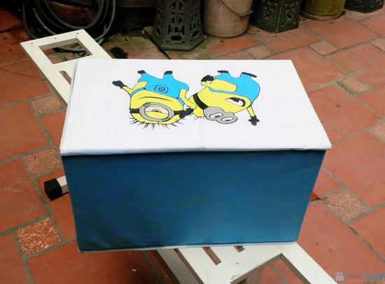 Combo 2 hộp đựng đồ handmade Minion - 11