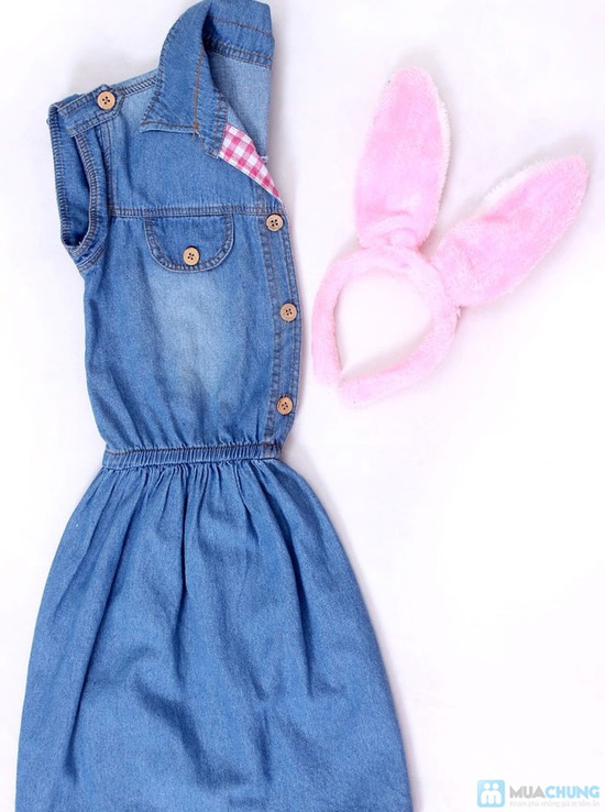 Đầm jean cho bé từ 10 - 15 tuổi - 5