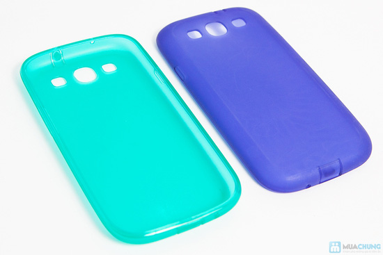 Combo ốp lưng da + ốp lưng silicon SamSung Galaxy S3 - 5