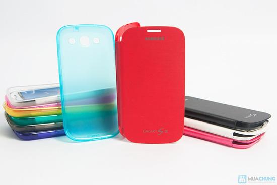 Combo ốp lưng da + ốp lưng silicon SamSung Galaxy S3 - 3