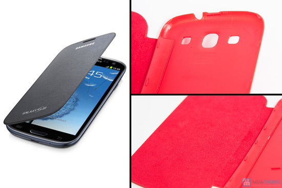 Combo ốp lưng da + ốp lưng silicon SamSung Galaxy S3 - 8