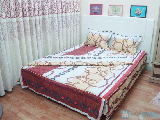 Làm ấm phòng ngủ với bộ vỏ chăn ga chần bông - 4