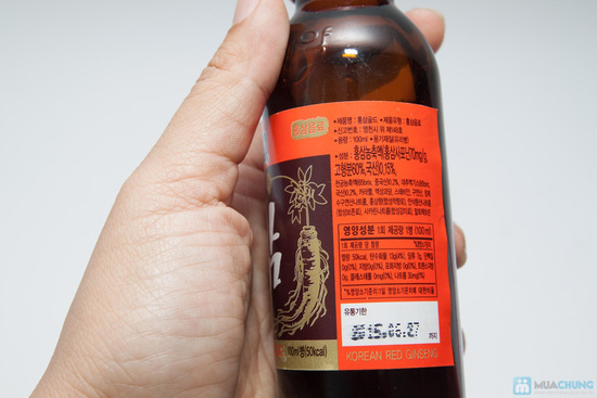 Bồi bổ cơ thể với Combo 10 chai nước hồng sâm - 4