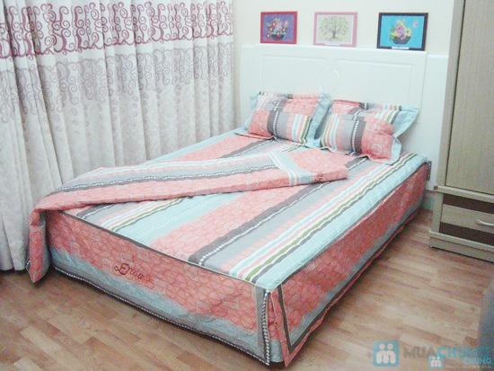 Làm ấm phòng ngủ với bộ vỏ chăn ga chần bông - 2