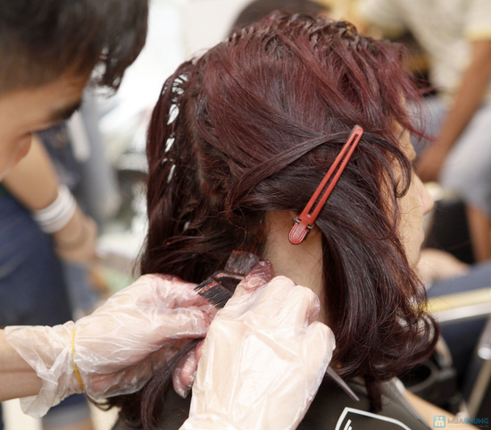 Áp dụng 1 trong 5 gói dịch vụ làm tóc trọn gói tại Hà Anh Salon - 2