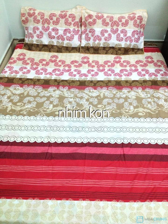 Làm ấm phòng ngủ với Bộ vỏ chăn, ga, gối chần bông cao cấp - 12