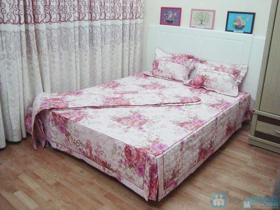 Làm ấm phòng ngủ với bộ vỏ chăn ga chần bông - 3