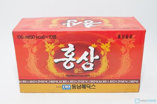 Bồi bổ cơ thể với Combo 10 chai nước hồng sâm - 5