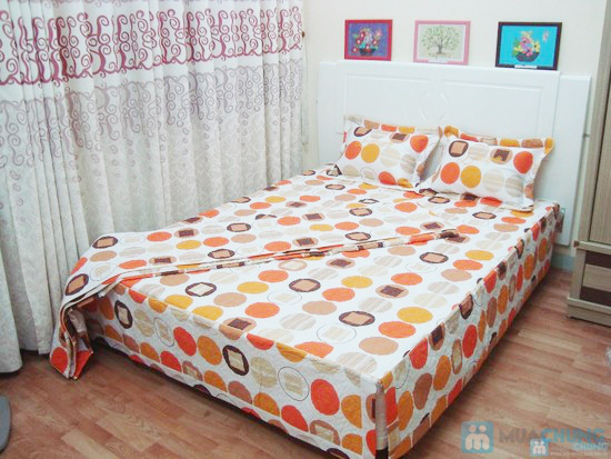 Làm ấm phòng ngủ với bộ vỏ chăn ga chần bông - 1