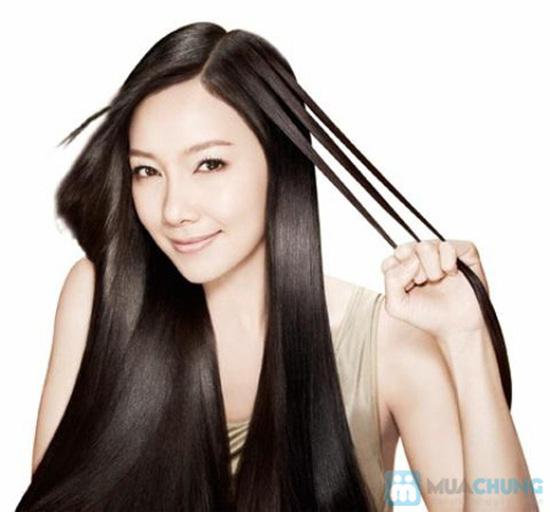 Hấp dầu Fanola và hấp collagen phục hồi cho tóc tại Salon Tóc Việt - 2