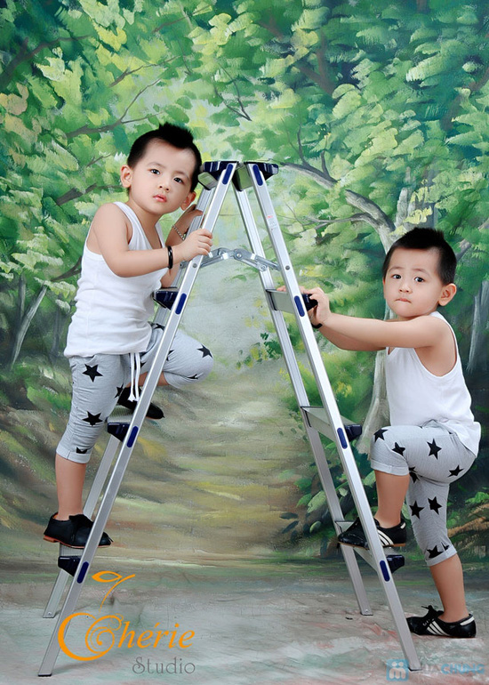Lưu giữ lại kỷ niệm tuổi thơ của bé với Gói chụp hình + làm lịch cho bé yêu tại Chérie Studio - 3