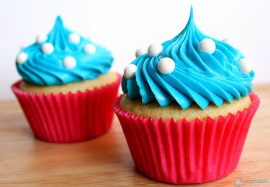 Set 8 bánh CupCake thơm ngon, đẹp mắt tại Afamily Cake - 4