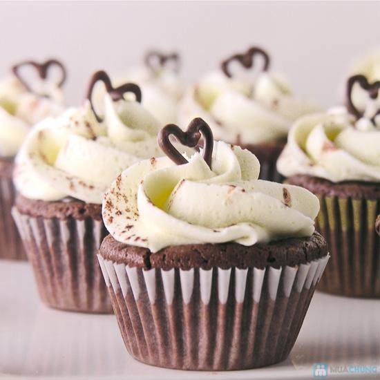 Set 8 bánh CupCake thơm ngon, đẹp mắt tại Afamily Cake - 3