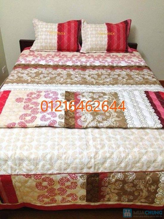 Làm ấm phòng ngủ với Bộ vỏ chăn, ga, gối chần bông cao cấp - 1
