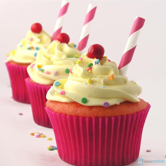 Set 8 bánh CupCake thơm ngon, đẹp mắt tại Afamily Cake - 2