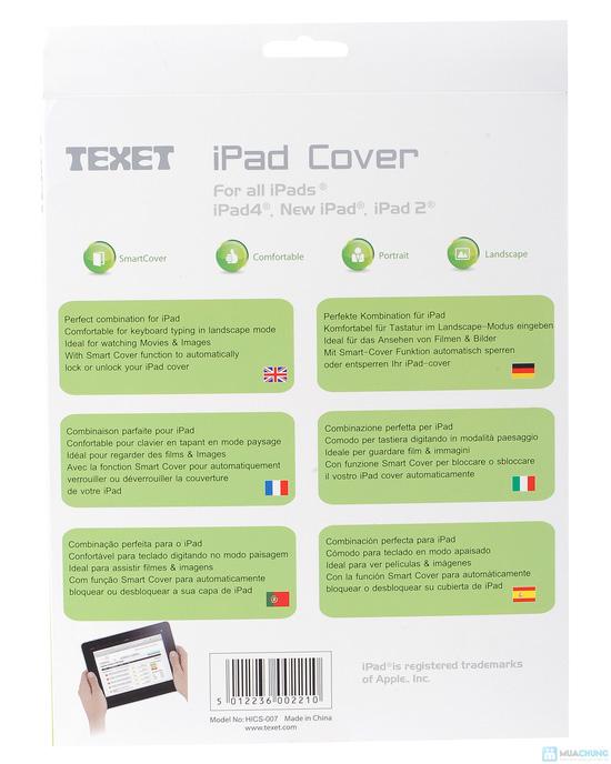 Bao da iPad 2, 3, 4 hiệu Texet HICS - 007 - 1