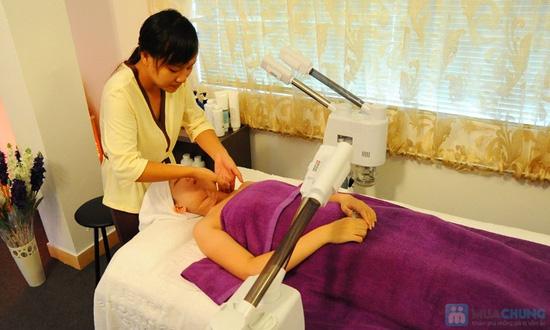 Đặc trị nám vùng da mặt và massage đặc trị vùng mắt giúp giảm quầng thâm và mờ vết nhăn tại Crystal Beaute - 10