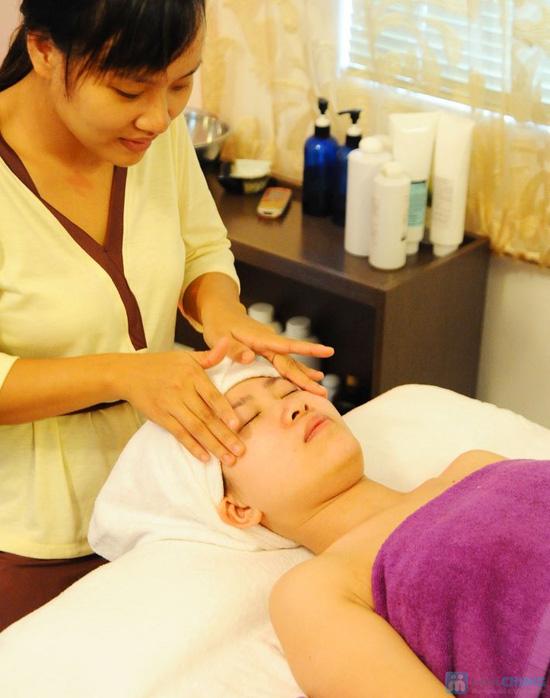 Đặc trị nám vùng da mặt và massage đặc trị vùng mắt giúp giảm quầng thâm và mờ vết nhăn tại Crystal Beaute - 8